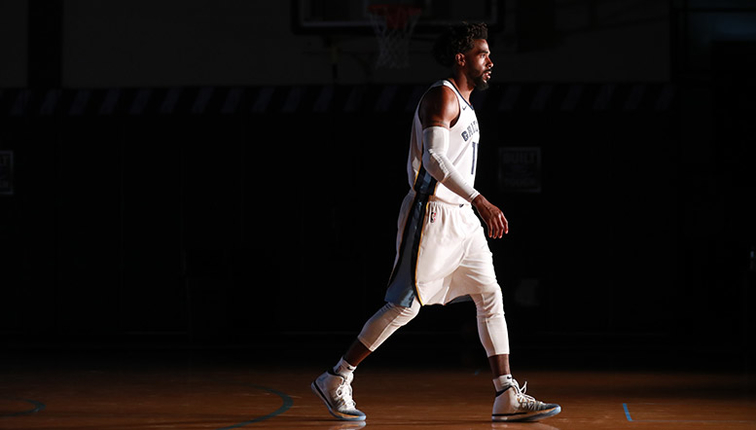 c46294e5a Conley impressed with fit and fashion of Nike s new Grizz uniforms ...