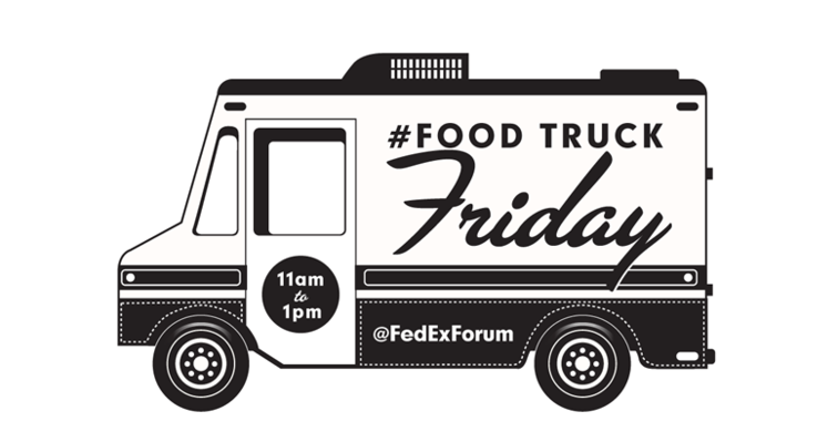 Food Truck Fridays To Debut At FedExForum On July 25