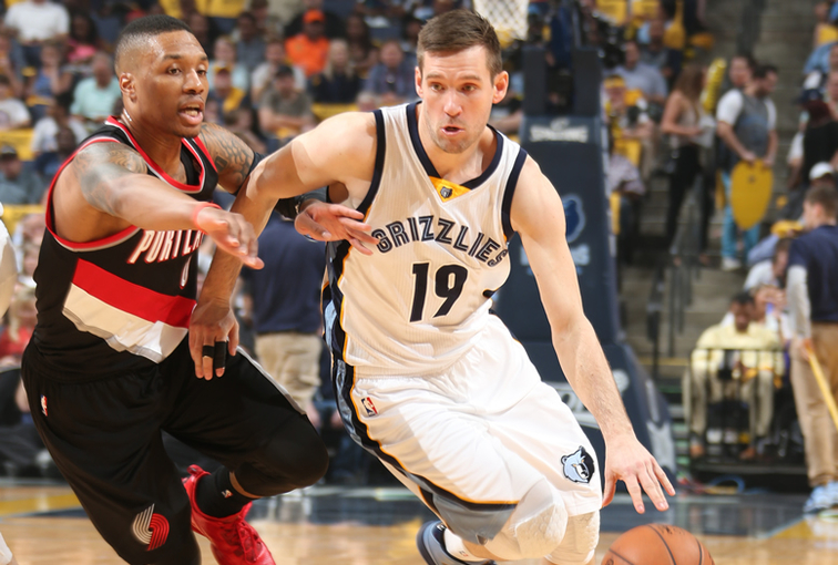 Grizzlies vs. Blazers - 4-19-15
