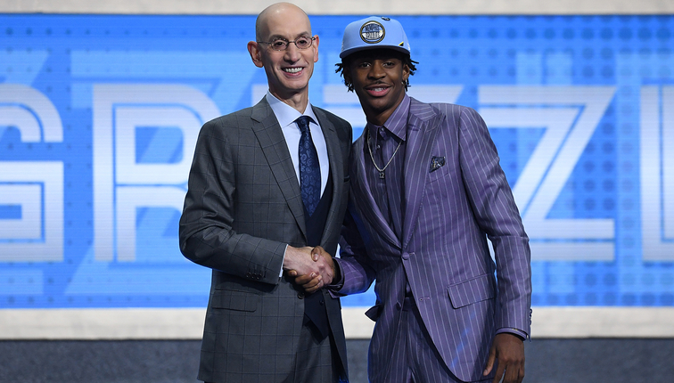 Image result for ja morant nba draft