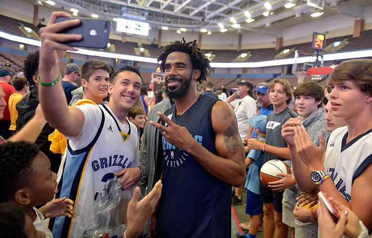 2017 Grizzlies Open Practice photos
