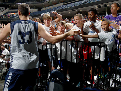 2015 Grizzlies Open Practice photos