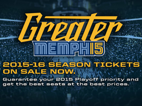 Grizzlies announce 2015-16 Season Tickets on sale Friday, March 6