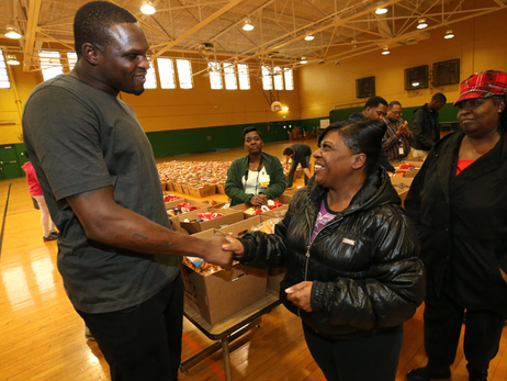Zach Randolph Holiday Basket Giveaway