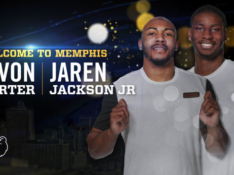 Grizzlies to introduce 2018 Draft Picks Jaren Jackson Jr. and Jevon Carter at Press Conference on Friday, June 22 at 2pm
