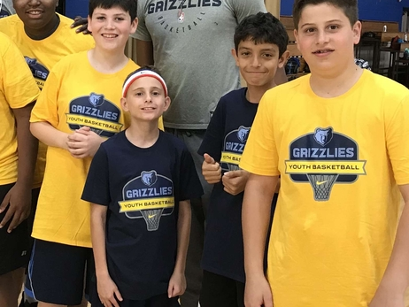 Highlights from Grizzlies Youth Summer Basketball Camps 2019