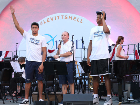 Rookies at Levitt Shell