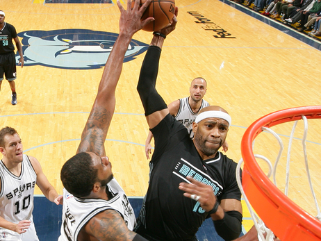 Grizzlies slide past Spurs