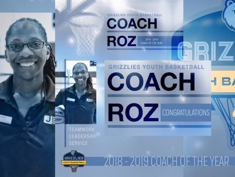 2018-19 Grizzlies Youth Basketball Coach of the Year: Rosalyn Knox