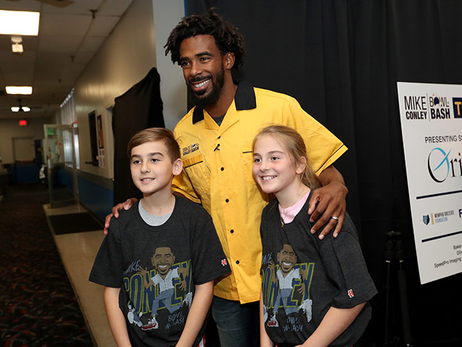 Mike Conley Bowl-N-Bash photos