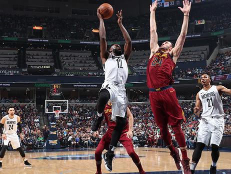 Postgame Report: Grizzlies fall to Cavaliers