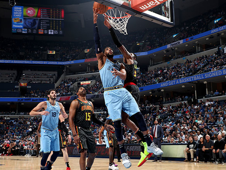 Postgame Report: Grizzlies Offense Hurts Hawks in Home Opener 131-117