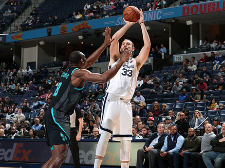 Postgame Report: Charlotte's Sharpshooting Too Much for Memphis, Fall 118-107