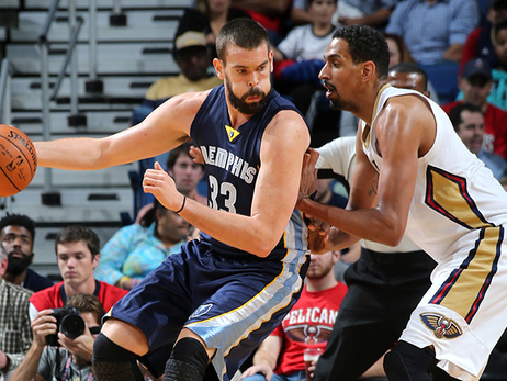 Gasol leads Grizzlies past Pelicans