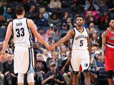 Grizzlies vs. Blazers - more photos