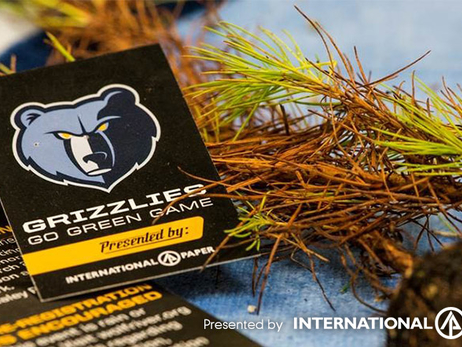 Grizzlies Go Green Night presented by International Paper