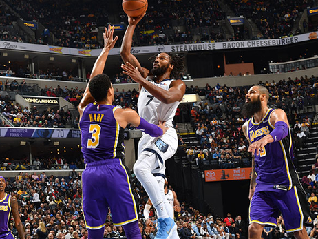 Postgame Report: Grizzlies Lose to the Lakers, 111-88
