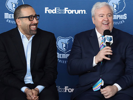 MikeCheck: Sans picks, Grizz GM Chris Wallace keeping NBA draft options open