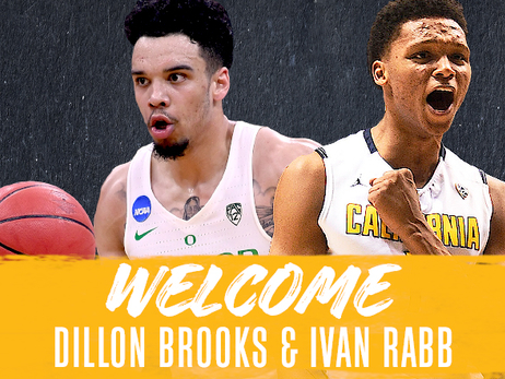 Grizzlies acquire draft rights to Ivan Rabb and Dillon Brooks