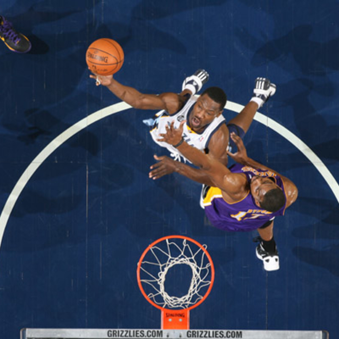 Grizzlies vs. Lakers 2011-2012
