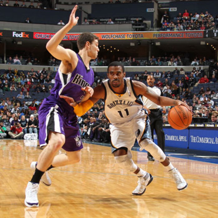 Grizzlies vs. Kings - Jan. 3, 2012 - Gallery 2