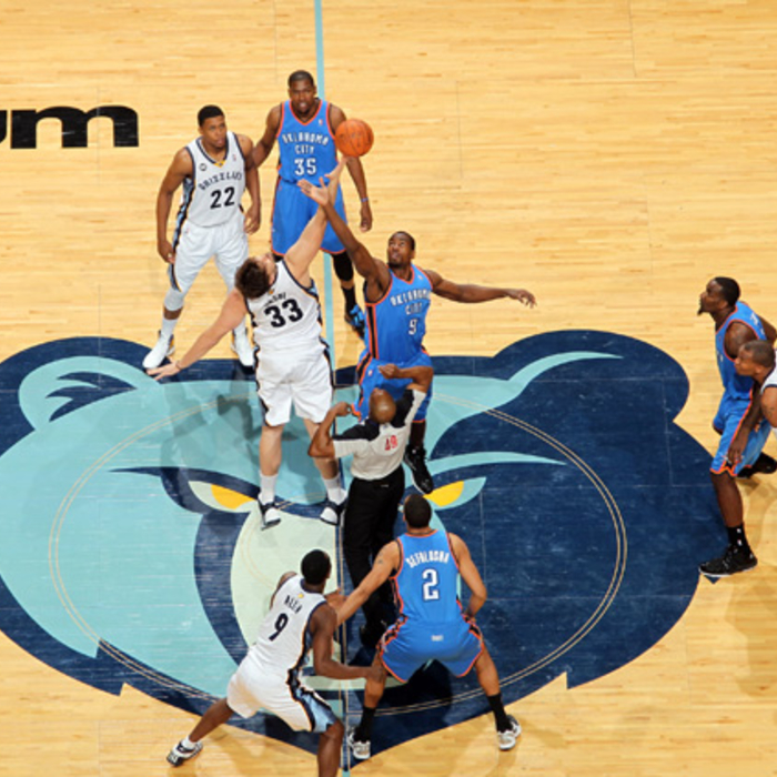 Grizzlies vs. Thunder - Jan. 10, 2012 - Gallery 1