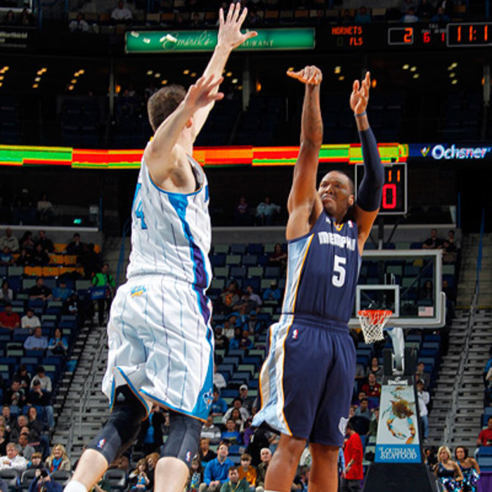 Grizzlies at Hornets - Jan. 18, 2012 - Gallery One