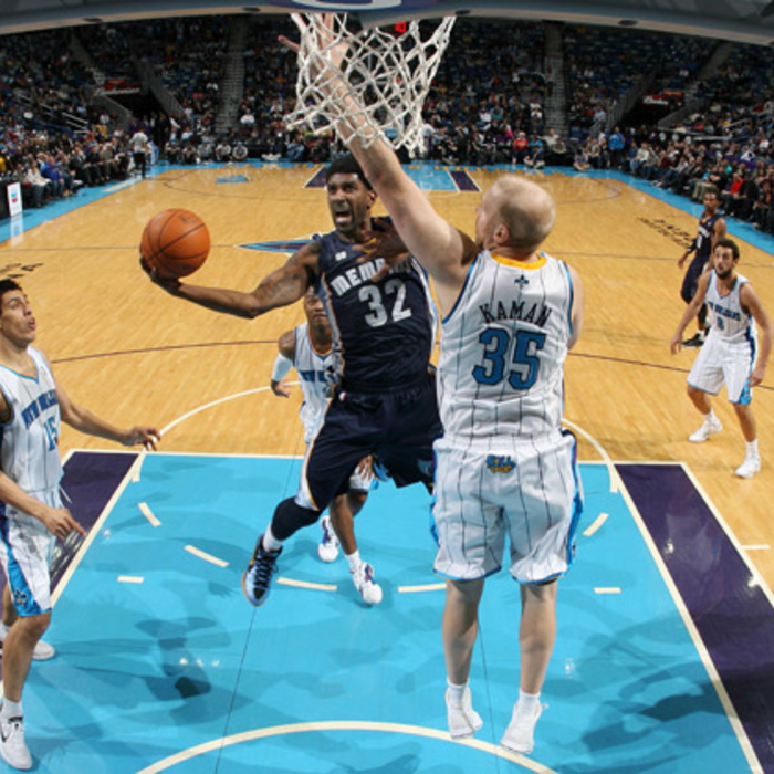Grizzlies at Hornets - Jan. 18, 2012 - Gallery Three