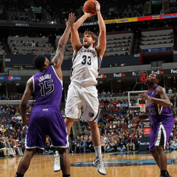 Grizzlies vs. Kings - Jan. 21, 2012 - Gallery One