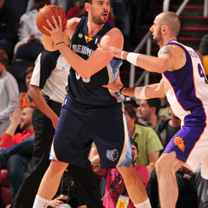 Grizzlies at Suns - Jan. 28, 2012