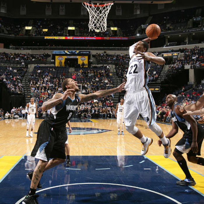 Grizzlies vs. T'Wolves - Feb. 8, 2012 - Gallery 4