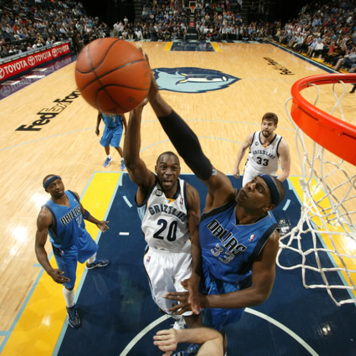 Grizzlies vs. Mavericks: Gallery 2 - Feb. 29, 2012
