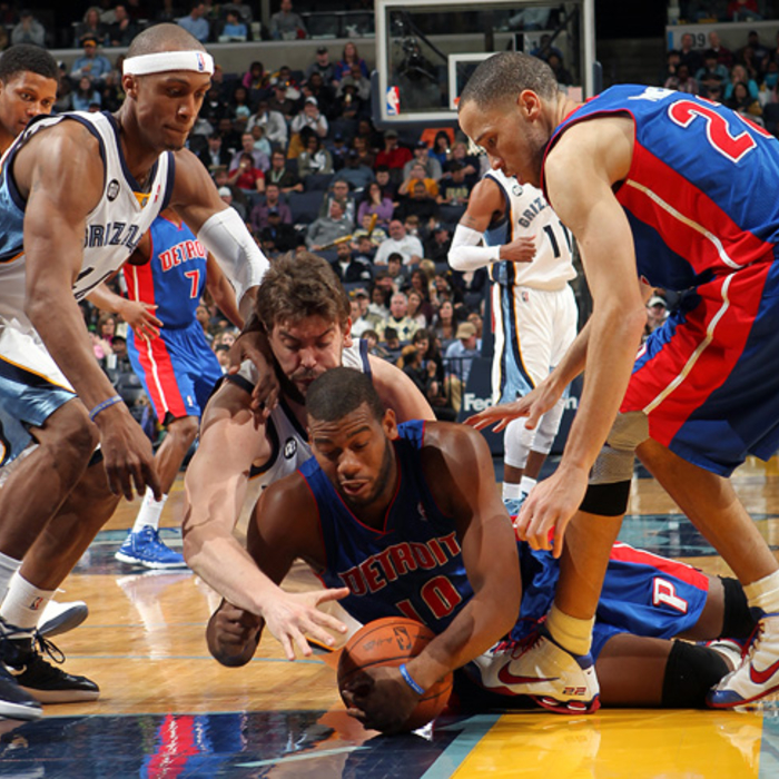Grizzlies vs. Pistons - Mar. 3, 2012 - Gallery 2
