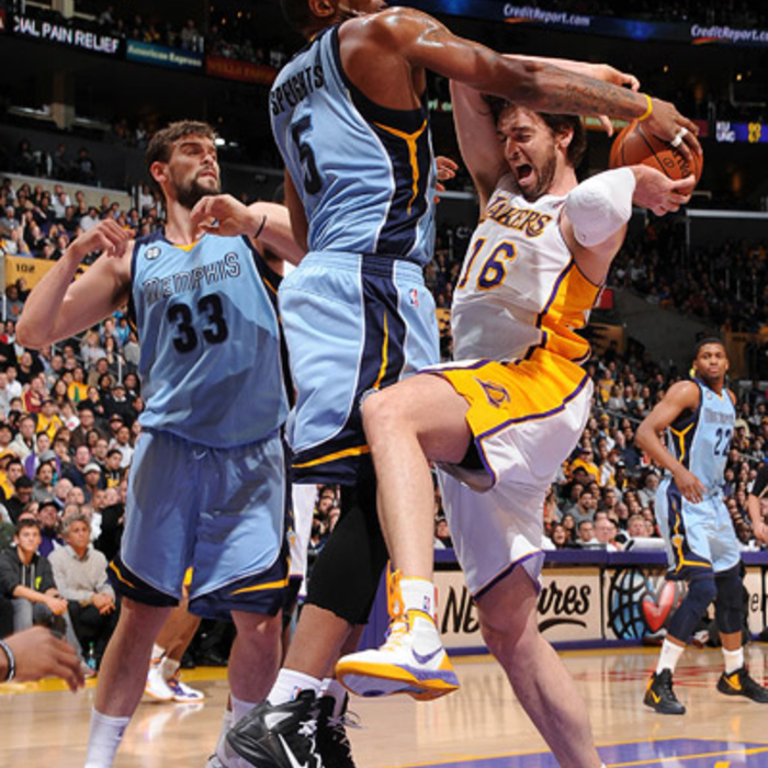 Grizzlies at Lakers - Mar. 26, 2012 - Gallery 2