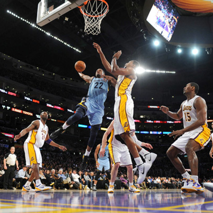 Grizzlies at Lakers - Mar. 26, 2012 - Gallery 1