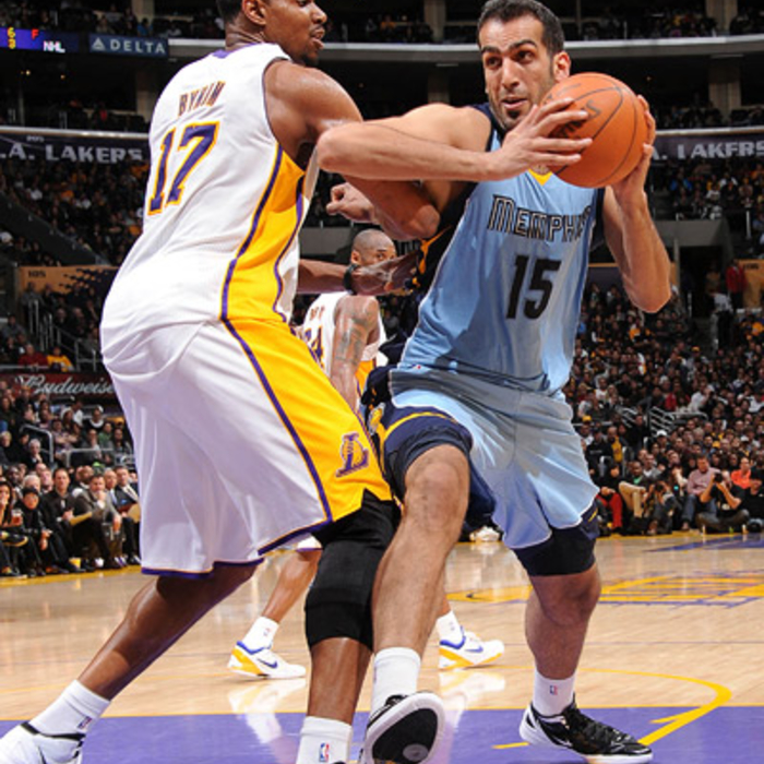 Grizzlies at Lakers - Mar. 26, 2012 - Gallery 3