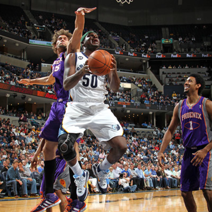 Grizzlies vs. Suns - Apr. 11, 2012 - Gallery 1
