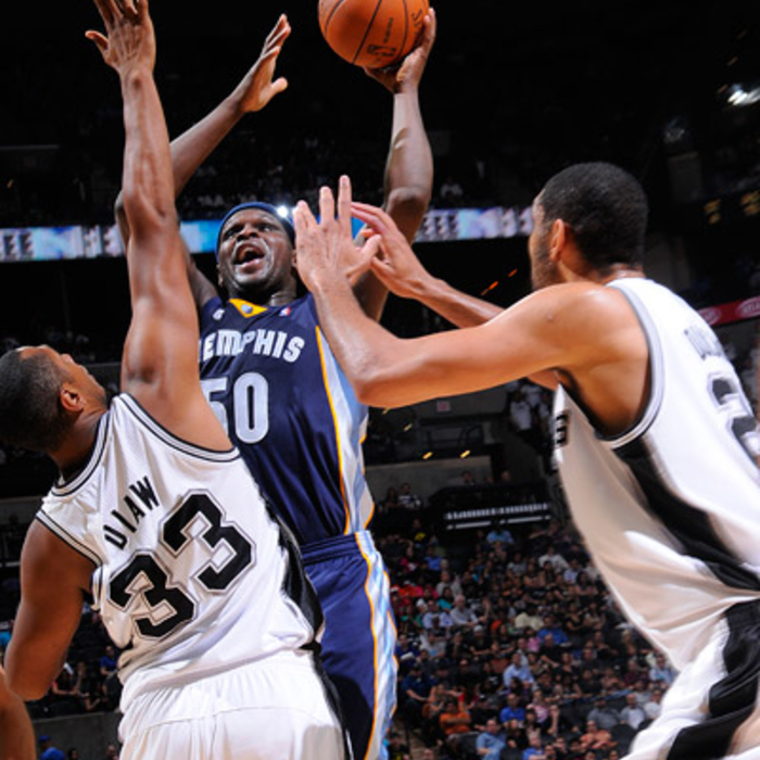 Grizzlies at Spurs - April 12, 2012 - Gallery 1
