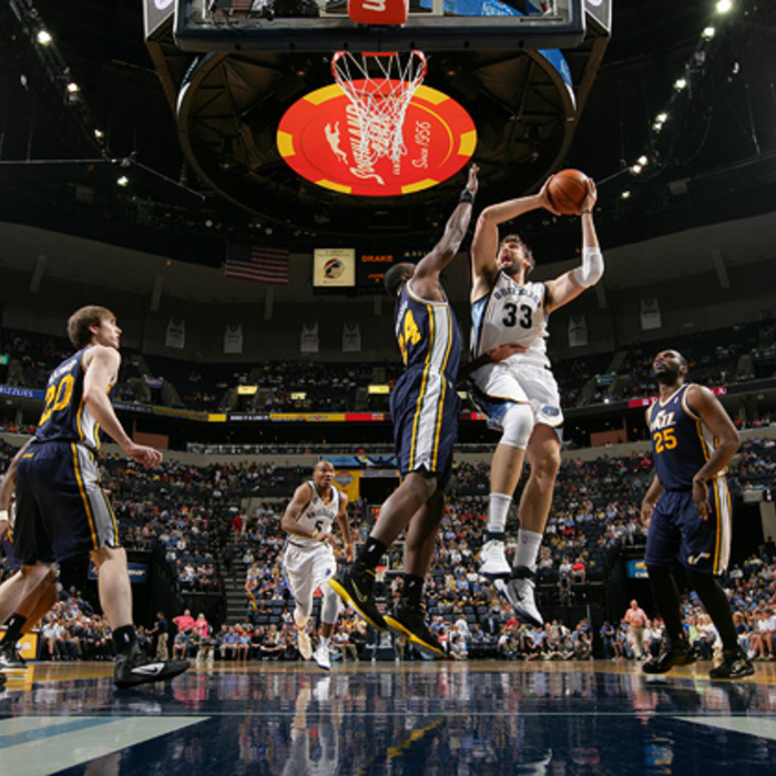 Grizzlies vs. Jazz - Apr. 14, 2012 - Gallery 1