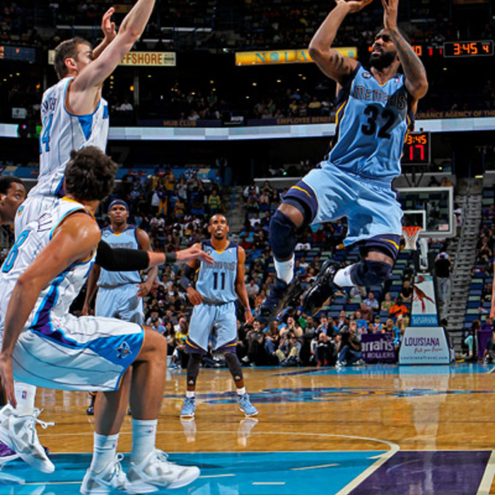 Grizzlies at Hornets - Apr. 15, 2012 - Gallery 1