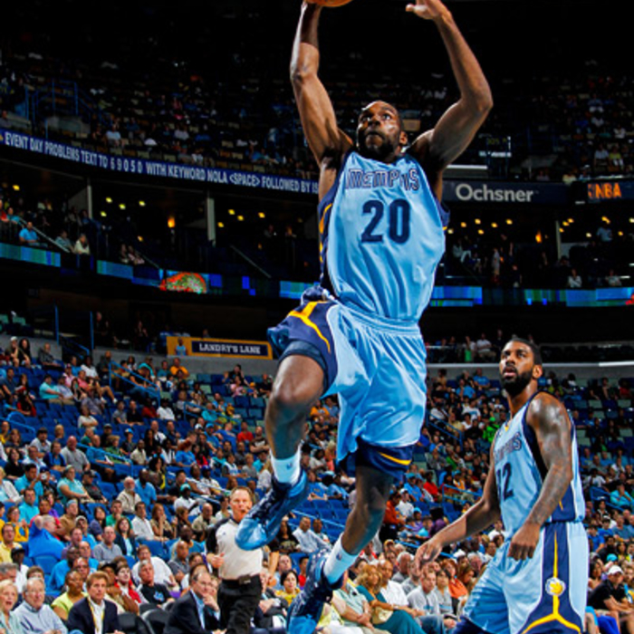 Grizzlies at Hornets - Apr. 15, 2012 - Gallery 2