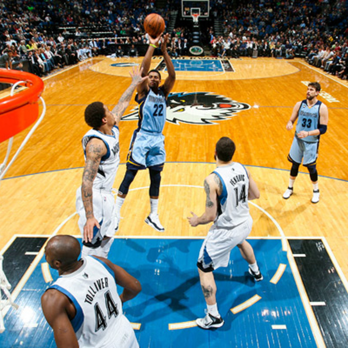 Grizzlies at T'Wolves - Apr. 17, 2012 - Gallery 2