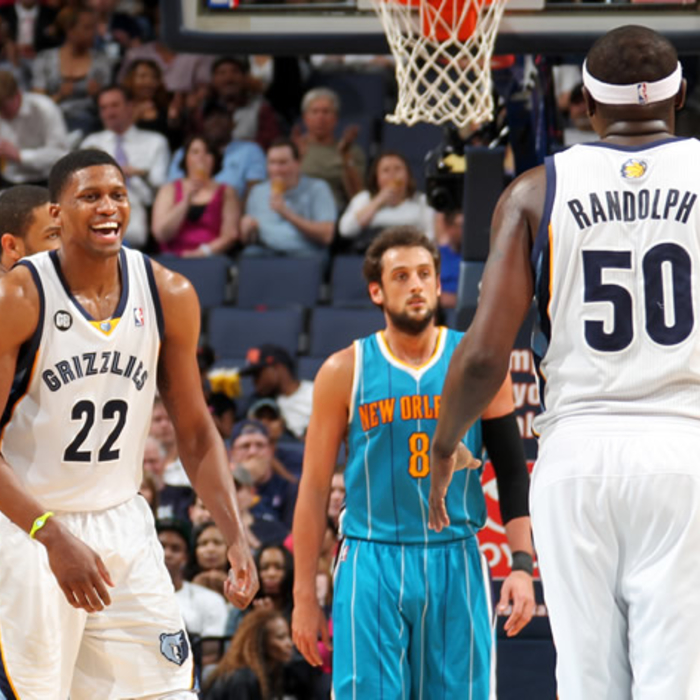 Grizzlies vs. Hornets: April 19, 2012 - Gallery 2