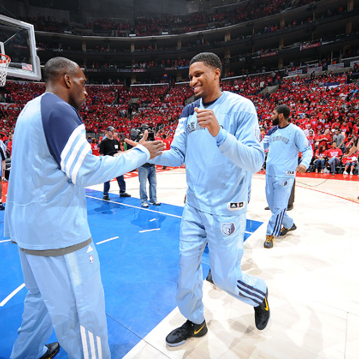 Round 1, Game 3 vs. Clippers - Gallery 1