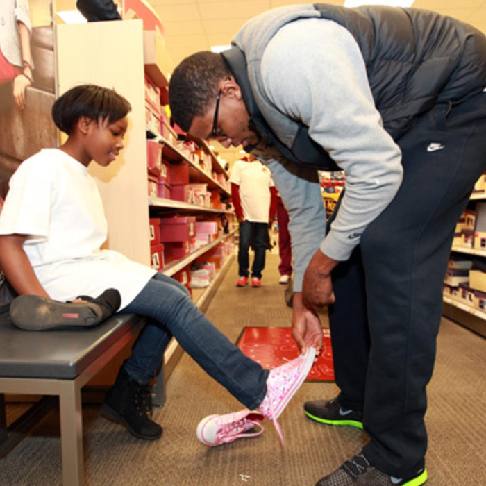 Rudy Gay's Shopping Spree 2012