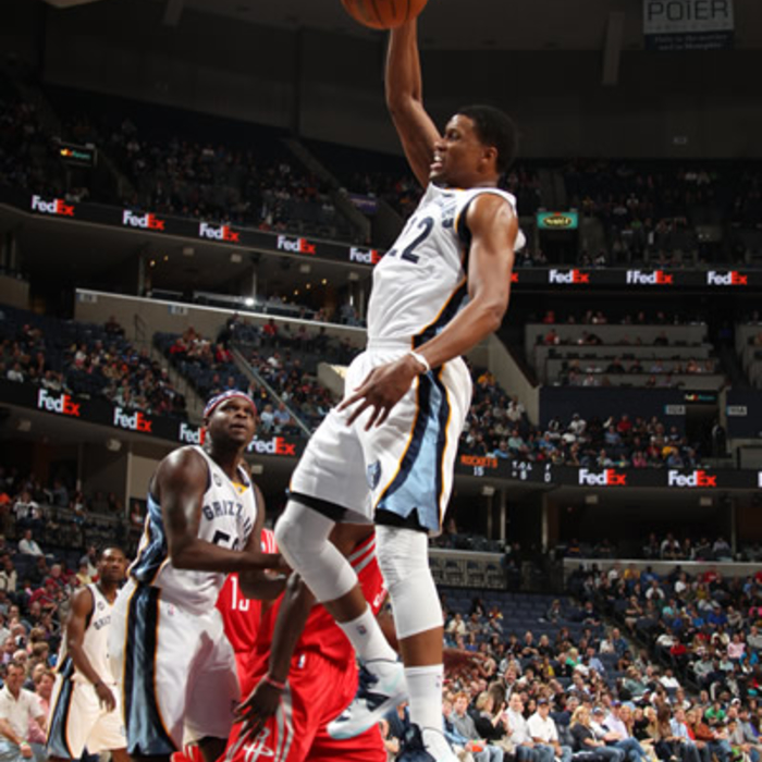 Grizzlies vs. Rockets: 11/9/12