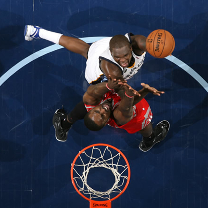 Grizzlies vs. Rockets: 1/9/12 - Gallery 2