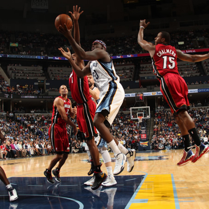 Grizzlies vs. Heat - 11/11/12