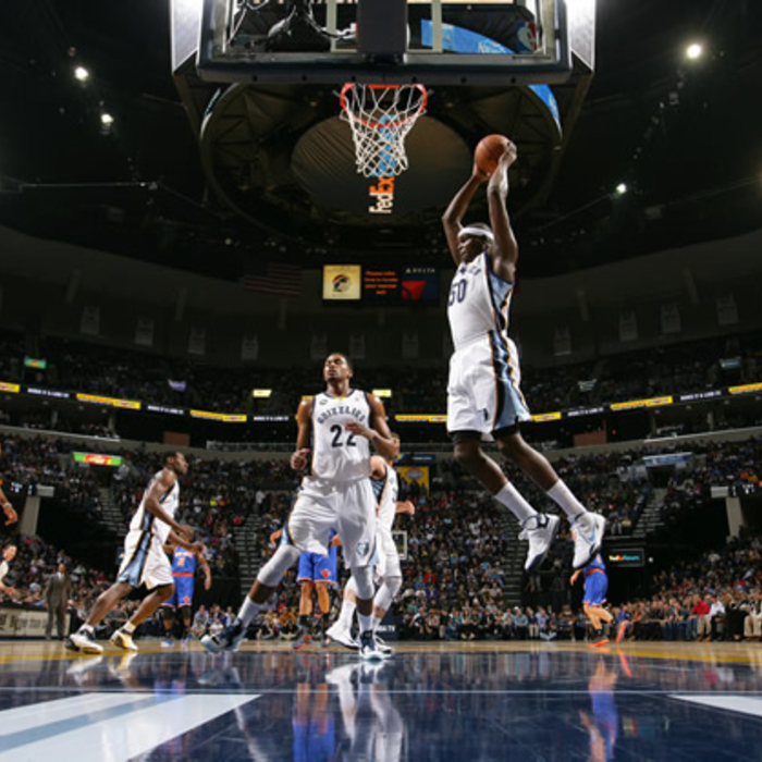 Grizzlies vs. Knicks - 11/16/12 - Gallery 1