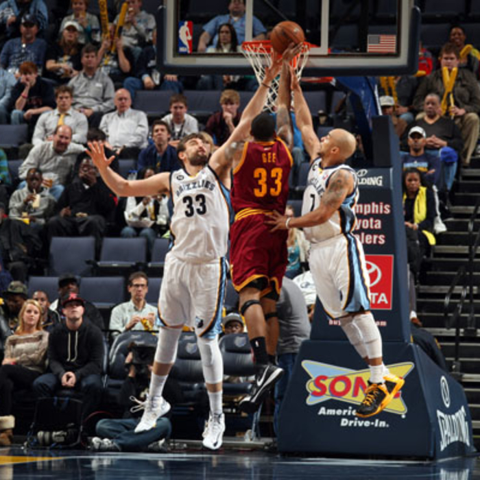 Grizzlies vs. Cavaliers: 11/27/12